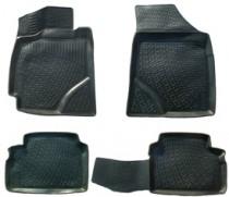 Коврики в салон Geely Emgrand EC7 3D  полиуретановые