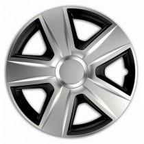 Elegant Esprit RC Silver&Black Колпаки для колес R14 (Комплект 4 шт.)