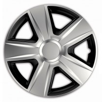 Elegant Esprit RC Silver&Black Колпаки для колес R15 (Комплект 4 шт.)