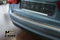 Nataniko Накладка на бампер с загибом Kia Rio III 4D