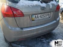 Nataniko Накладка на бампер с загибом KIA VENGA