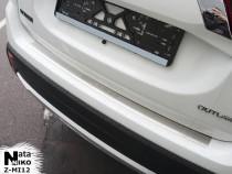 Nataniko Накладка на бампер с загибом Mitsubishi Outlander IV