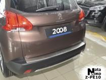 Nataniko Накладка на бампер с загибом Peugeot 2008