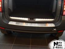 Nataniko Накладка на бампер с загибом Renault Duster 2010-2018
