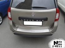 Nataniko Накладка на бампер с загибом Renault Logan III MCV