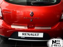 Nataniko Накладка на бампер с загибом Renault Sandero II