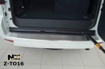 Nataniko Накладка на бампер с загибом Toyota LAND CRUISER 150