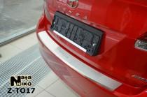 Nataniko Накладка на бампер с загибом Toyota VENZA FL