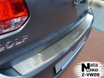Nataniko Накладка на бампер с загибом Volkswagen GOLF VI 5D