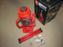 ДК Домкрат бутылочный, 12т, красный H=210/400