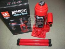 ДК Домкрат бутылочный, 5т, красный H=195/380