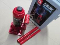ДК Домкрат бутылочный, 4т пластик, красный H=185/350