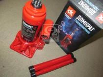 ДК Домкрат бутылочный, 4т, красный H=185/350