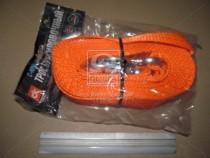 ДК Трос буксировочный 5т. 50мм. 5/6м. С-крюк, Polyester, оранжевый