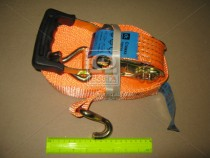 ДК Стяжка груза, 5t. 50mm.x12m.(0.5+11.5) прорезин. ручка