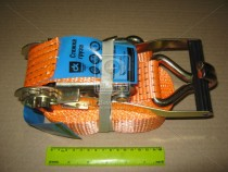 ДК Стяжка груза, 5t. 50mm.x6m.(0.5+5.5) пластик. ручка