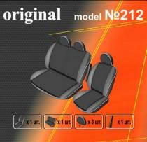 EMC-Elegant Авточехлы на сиденья Ford Transit (2+1) c 2006г
