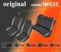 EMC-Elegant Авточехлы на сиденья Kia Carens 5-и местная