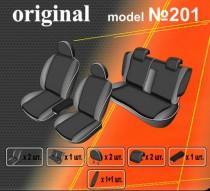 EMC-Elegant Авточехлы на сиденья Mitsubishi Lancer X Sedan (об. 1.5)