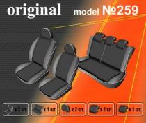 EMC-Elegant Авточехлы на сиденья Nissan Juke (YF15) c 2010