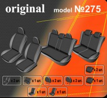 EMC-Elegant Авточехлы на сиденья Opel Zafira B c 2005-2010 7 мест