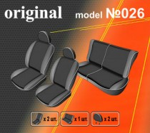 EMC-Elegant Авточехлы на сиденья Peugeot 206 sedan