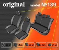 EMC-Elegant Авточехлы на сиденья Renault Duster деленный с 2010г
