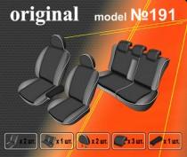 EMC-Elegant Авточехлы на сиденья Renault Fluence деленный с 2009г