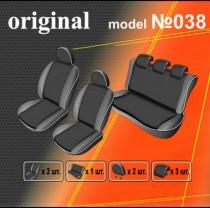 Авточехлы на сиденья Renault Megane EMC-Elegant
