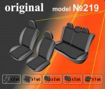 EMC-Elegant Авточехлы на сиденья Renault Sandero деленный с 2007г
