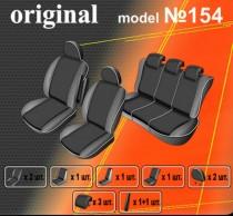 Авточехлы на сиденья Renault Scenic Conquest (II) с 2007-09г EMC-Elegant