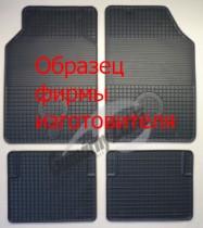 Коврики в Opel Zafira TOURER (2015-) резиновые Gumarny Zubri