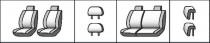 Favorite Авточехлы на сиденья CITROEN C3 picasso 2009-2013