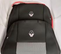 Оригинальные чехлы на сиденья Renault Scenic 2003-2009 со столами