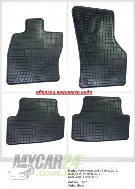 EL TORO Резиновые коврики в салон BMW F15 X5 2013-