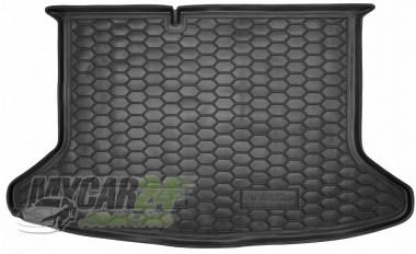 AvtoGumm Резиновые коврики в багажник Kia Niro (2018>) (без органайзер.)
