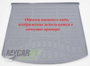 Unidec Коврик в багажник Volkswagen Touareg III (2018) серый (2-х зонный климат контроль)