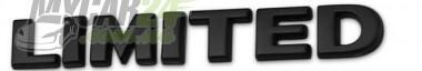 Logo Надпись Limited black  для jeep