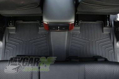 САРМАТ Коврики резиновые в салон 3D  для Toyota Prado 150/Lexus GX460 (2009-)
