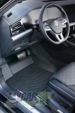 САРМАТ Коврики резиновые в салон 3D LUX для Volkswagen Touareg III (2018-)
