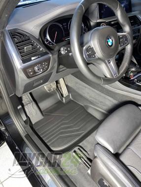 САРМАТ Коврики резиновые 3D LUX для BMW X4 (G02) (2018-)