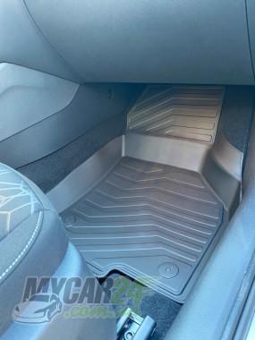 САРМАТ Коврики резиновые в салон 3D LUX для Skoda Octavia A8 2020-