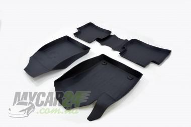 САРМАТ Коврики резиновые в салон 3D  для Toyota C-HR (2016-)
