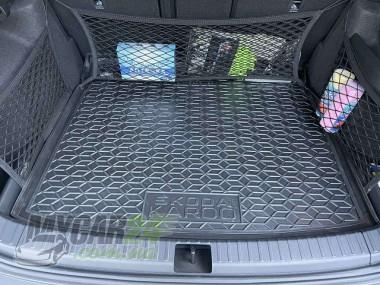 AvtoGumm Резиновые коврики в багажник Skoda Karoq (2018>) с запаской