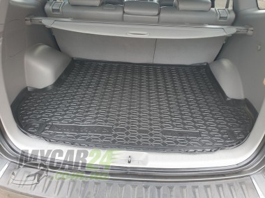 AvtoGumm Резиновые коврики в багажник Hyundai Santa-Fe (2006-12) (5мест)