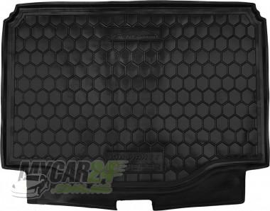 AvtoGumm Резиновые коврики в багажник Chevrolet Tracker (2013>)