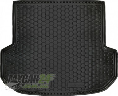 AvtoGumm Резиновые коврики в багажник Kia Sorento (2015>) (5мест)