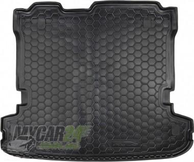 AvtoGumm Резиновые коврики в багажник Mitsubishi Pajero Wagon LV (2007>) (7 Мест)