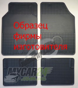 Gumarny Zubri Коврики в салон BMW X5 (F15) 2013- резиновые