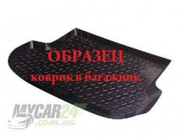 L.Locker Коврики в багажник Mitsubishi Pajero IV 5 dr. (07-) - пластик
